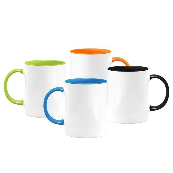11oz. White Ceramic Sublimation Coffee Mug