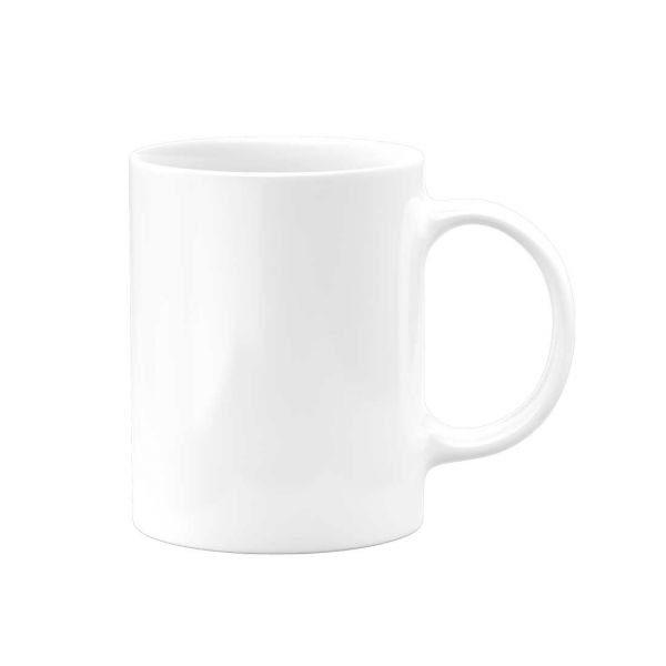 White Ceramic Sublimation Coffee Mug